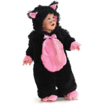 Black Kitty InfantToddler Costume