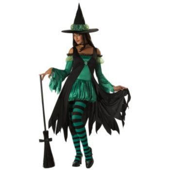 Emerald Witch Teen Costume