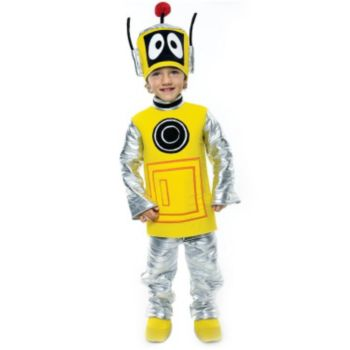 Yo Gabba Gabba Plex Toddler Costume