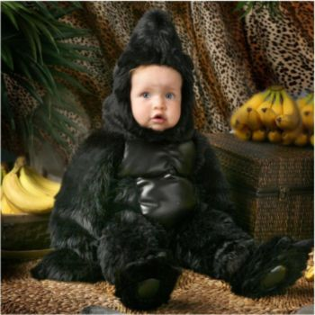 Gorilla Deluxe Toddler Costume