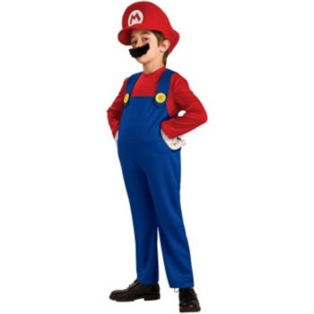 Super Mario Bros. - Mario Deluxe ToddlerChild Costume