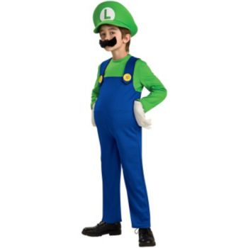 Super Mario Bros. - Luigi Deluxe ToddlerChild Costume