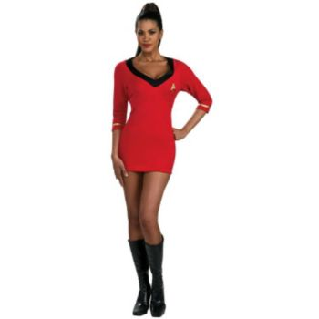 Star Trek Secret Wishes Red Dress