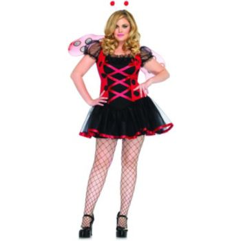 Lovely Ladybug Adult Plus Costume