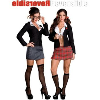 Trouble At School (Reversible) Adult Costume