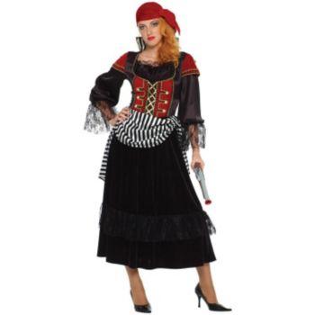Treasure Pirate Wench Adult Costume
