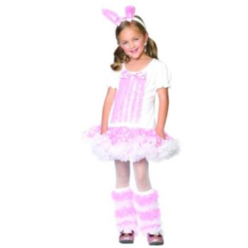 Fluffy Bunny Child Costume