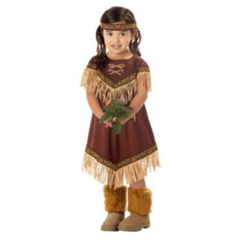 Lil' Indian Princess ToddlerChild Costume