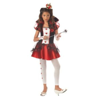 Wonderlands Queen of Hearts Child Costume