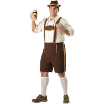 Bavarian Guy Plus Adult Costume