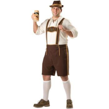 Bavarian Guy Plus Adult Costume