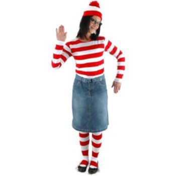 Where's Waldo - Wenda Adult Costume Kit
