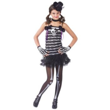 Skeleton Sweetie Child Costume