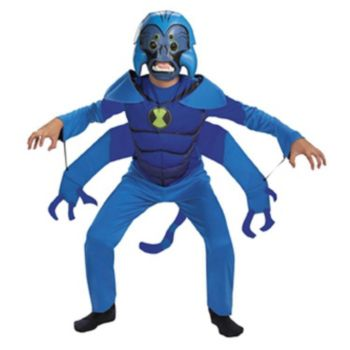 Ben 10 Spider-Monkey Child Costume
