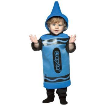 Blue Crayola Crayon Toddler Costume