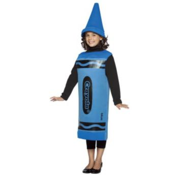 Blue Crayola Crayon Child Costume
