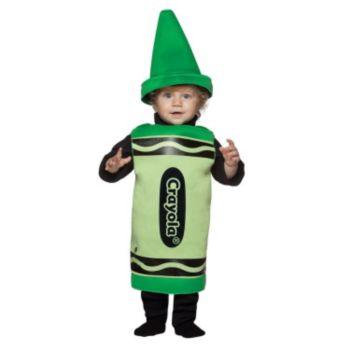 Green Crayola Crayon Toddler Costume