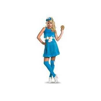 Sesame Street - Cookie Monster Sexy Female Adult Costume