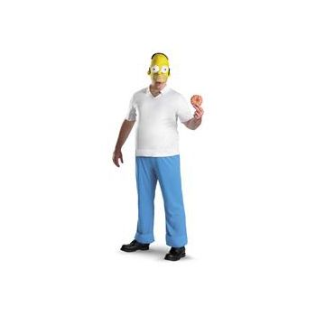 The Simpsons - Homer Deluxe Adult Costume