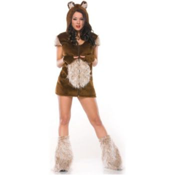 Teddy Bear Girl Adult Costume