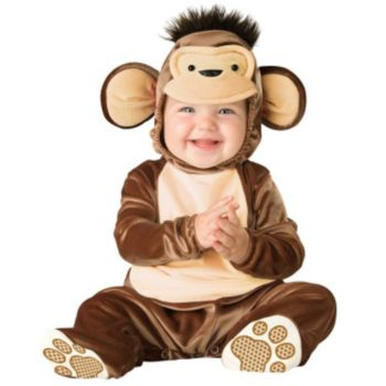 Mischievous Monkey Infant Toddler Costume
