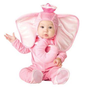 Pink Elephant InfantToddler Costume