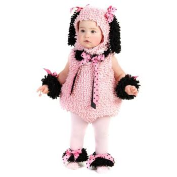 Pink Poodle InfantToddler Costume