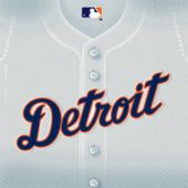 Detroit Tigers Lunch Napkins - 36 Pack