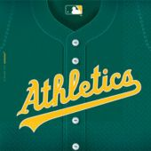 Oakland Athletics Lunch Napkins - 36 Pack