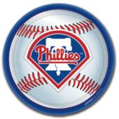 "Philadelphia Phillies 9"" Plates - 18 Pack"