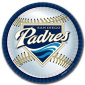 "San Diego Padres 9"" Plates - 18 Pack"