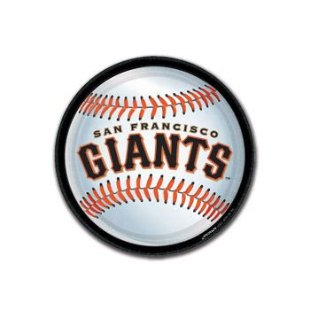 "SF GIANTS 9"" PLATES"