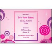 Pink Magic Personalized Invitations