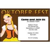 Oktoberfest Personalized Party Invitations