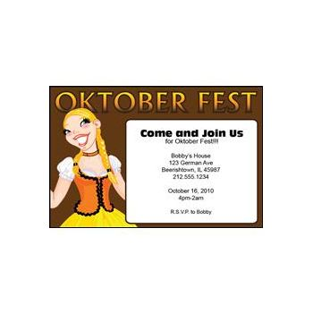 Oktoberfest Girl Brown