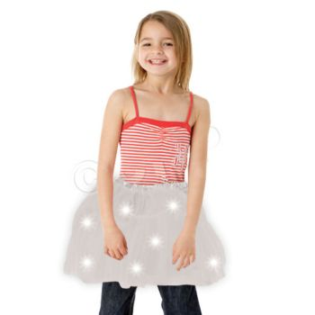 White Tutu With Lights