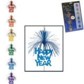 Happy New Year Colorful Stringer Decoration