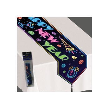 HAPPY NEW YEAR TABLE RUNNER