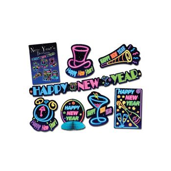 New Year Neon Decorama