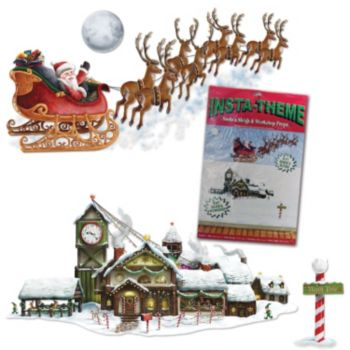 SANTA'S WORKSHOP ADD ON PROPS
