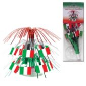 Italian Flag Centerpiece-7 1/2""