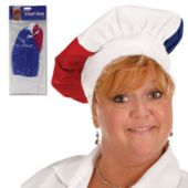 Red, White & Blue Chef's Hat