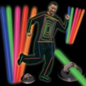 Multi Color Glow Costume Kit
