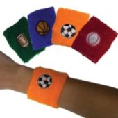 Sports Ball Wristbands - 12 Pack