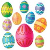 Easter Egg Cutouts-10 Per Unit