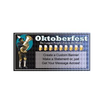 OKTOBERFEST FAIR CUSTOM BANNER (Variety of Sizes)