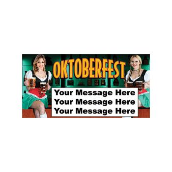 OKTOBERFEST BAVARIAN GALS PERSONALIZED INVITAIONS (Variety of Sizes)