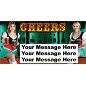 OKTOBERFEST CHEERS PERSONALIZED BANNER (Variety of Sizes)