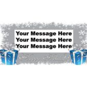 Holiday Wishes Custom Banner