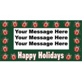 HOLIDAY PRESENTS CUSTOM BANNER (Variety of Sizes)
